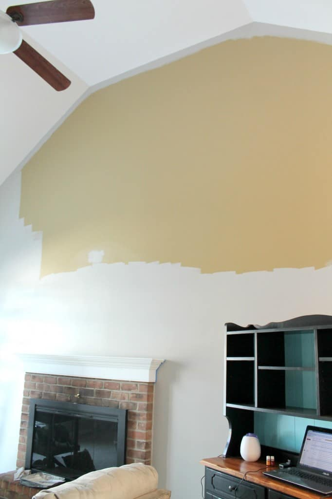 painting high ceilings