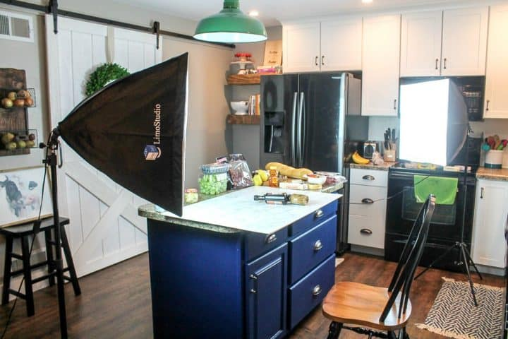 how to set up interior photo shoot
