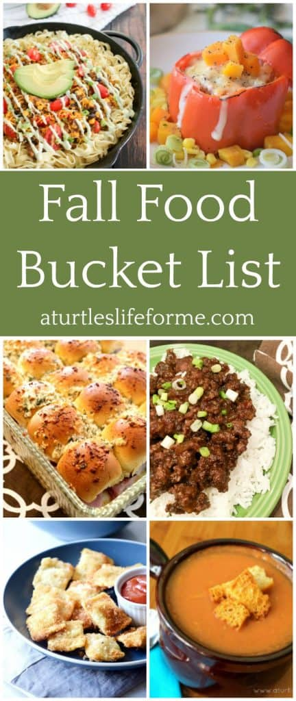 Delicious comfort food recipes for Fall