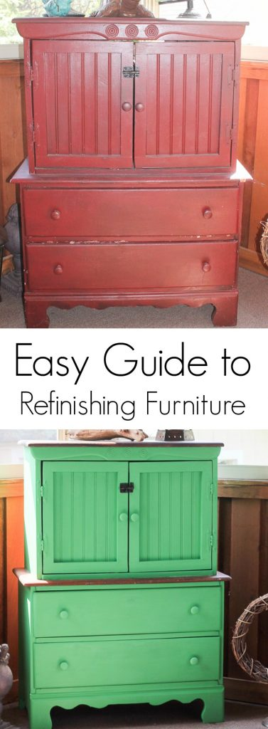 Easy guide to refinishing furniture