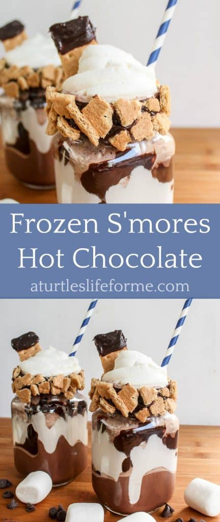 Frozen S'mores Hot Chocolate Recipe