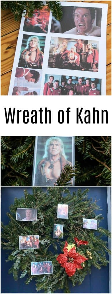 Handmade Wrath of Kahn Star Trek Christmas gift