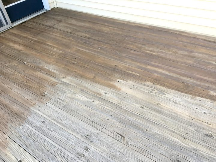 Step 5 how to stain your wood deck