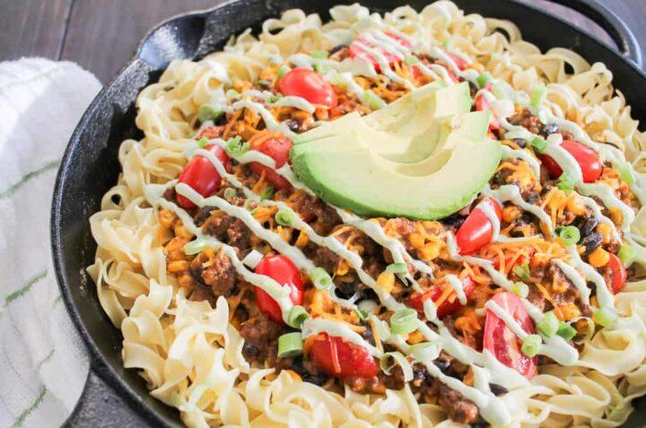 Taco Casserole Recipe for stovetop