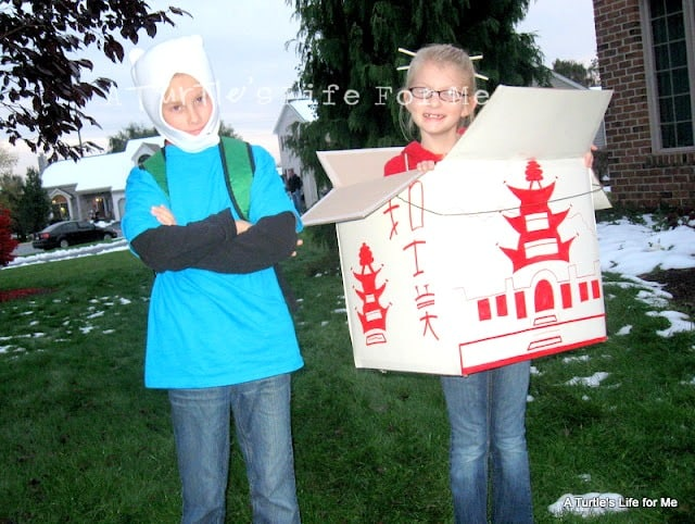 chinese takeout box halloween costume