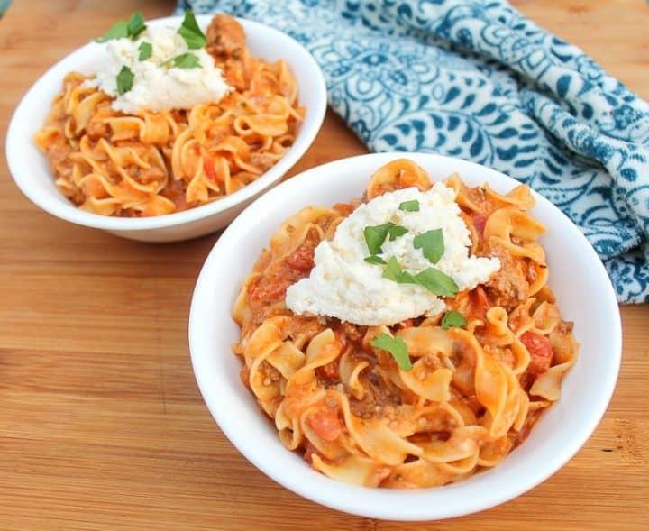 Lasagna Soup recipe_