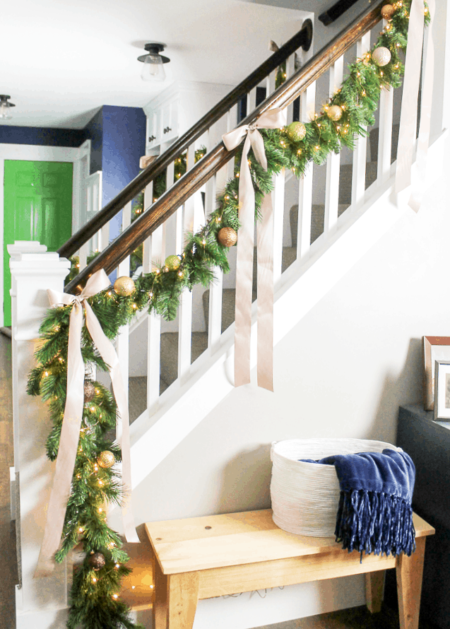 How To Make A Faux Christmas Garland A Turtle S Life For Me