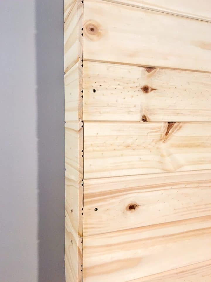 Step 4- Directions to build a pallet wall