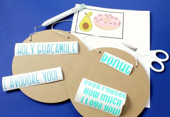Valentine's Day funny DIY signs