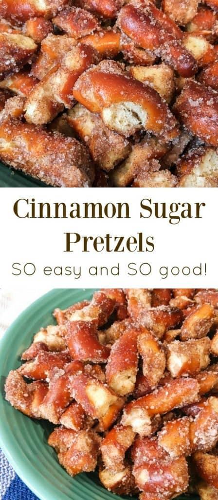 Cinnamon Sugar Pretzel Recipes