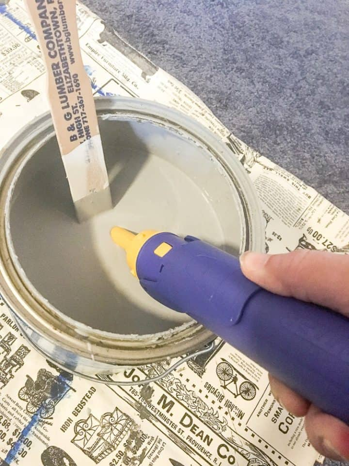 how to use an edger when painting
