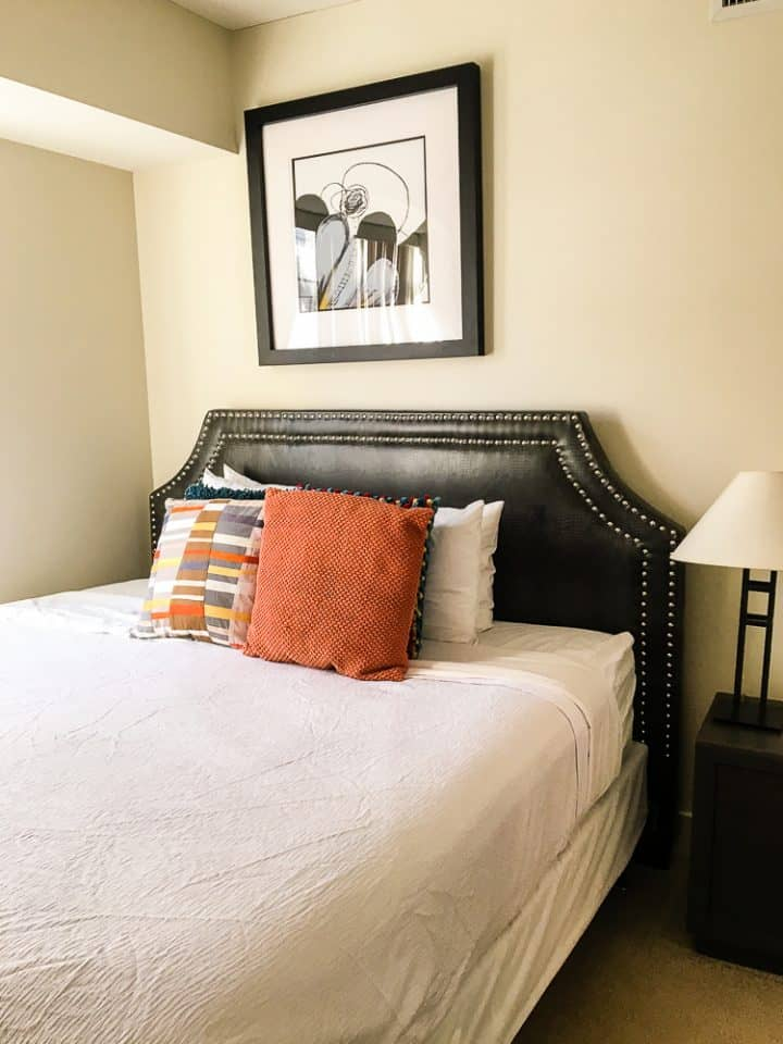 Philadelphia Rittenhouse Square Homeaway vacation rental bedroom