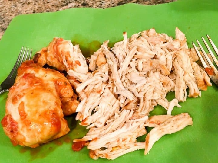 how to shred chicken in the instant pot