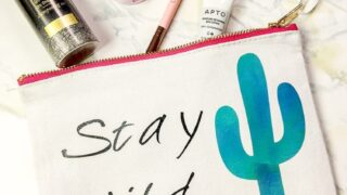 How to use Cricut patterned iron on
