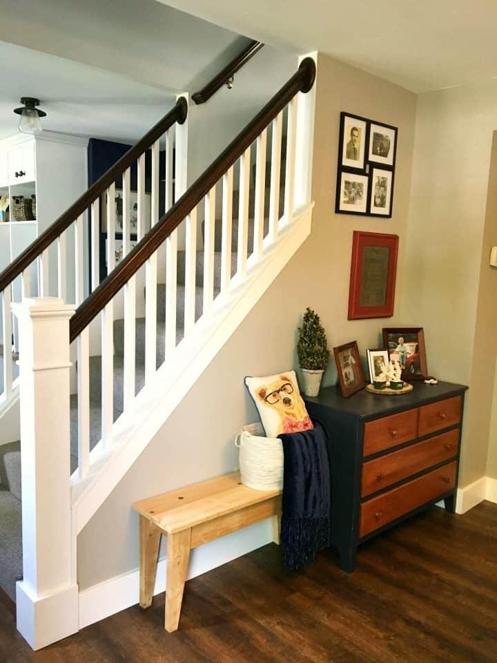 Open staircase idea
