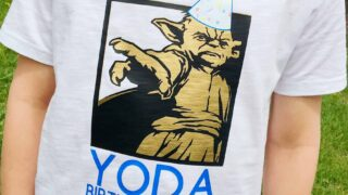 Personalized Star Wars tshirt