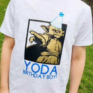 Personalized Star Wars tshirt