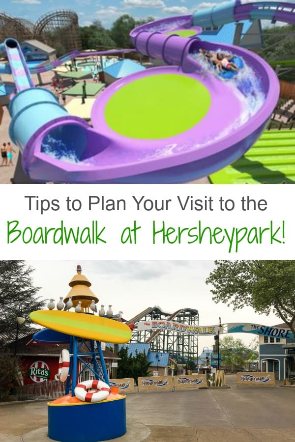 Tips to Plan your visit to the Boardwalk at Hersheypark