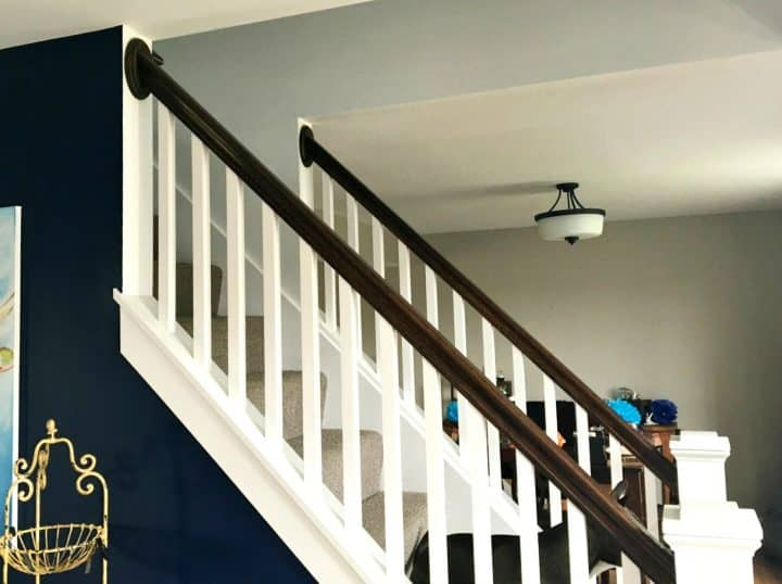 how to trim out a staircase