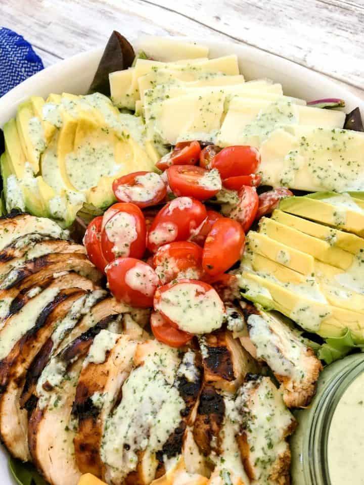 Green Goddess Salad Dressing Recipe with yogurt