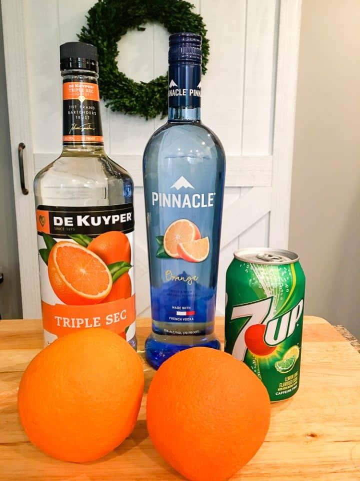 Orange Crush Vodka Drink Ingredients
