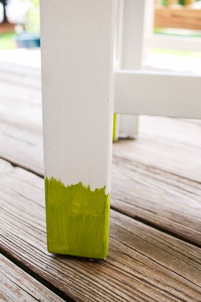 how to dry brush paint on furniture