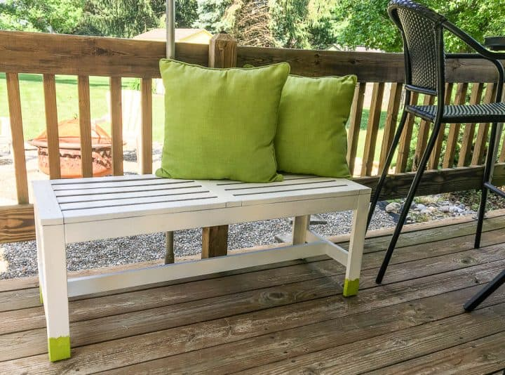 how to paint outdoor wood furniture with a paint sprayer