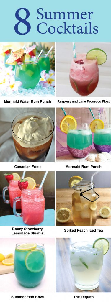8 refreshing summer cocktail recipes with alcohol