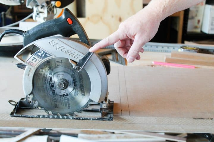 How to build a DIY mudroom coat bench tutorial