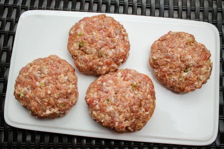 asian pork burgers recipe with ground pork