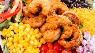 Easy Shrimp Taco Salad Recipe
