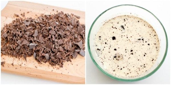 How to make chocolate ganache with heavy cream