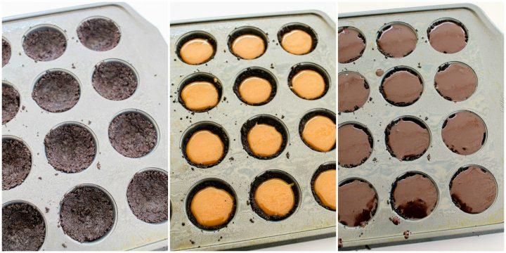 How to make simple chocolate caramel mini tarts