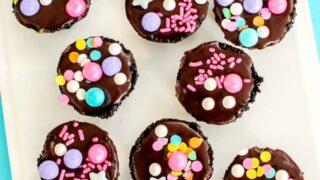 how to make caramel ganache tarts