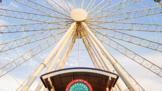 The Island Pigeon Forge TN the Island ferris wheel