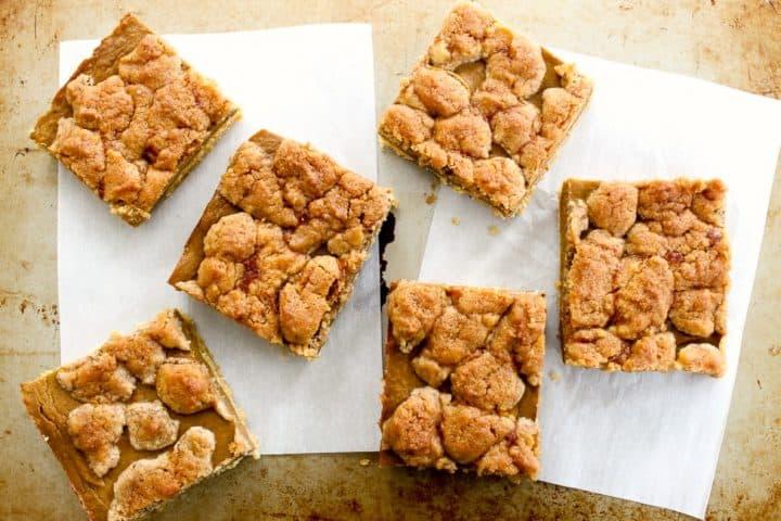 Pumpkin Pie Bars Squares recipe