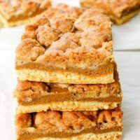 Pumpkin Pie Bars easy recipe