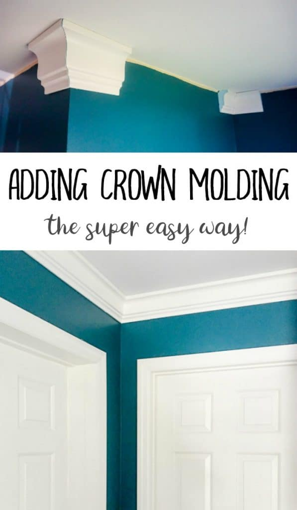 Updating a Room with Crown Molding