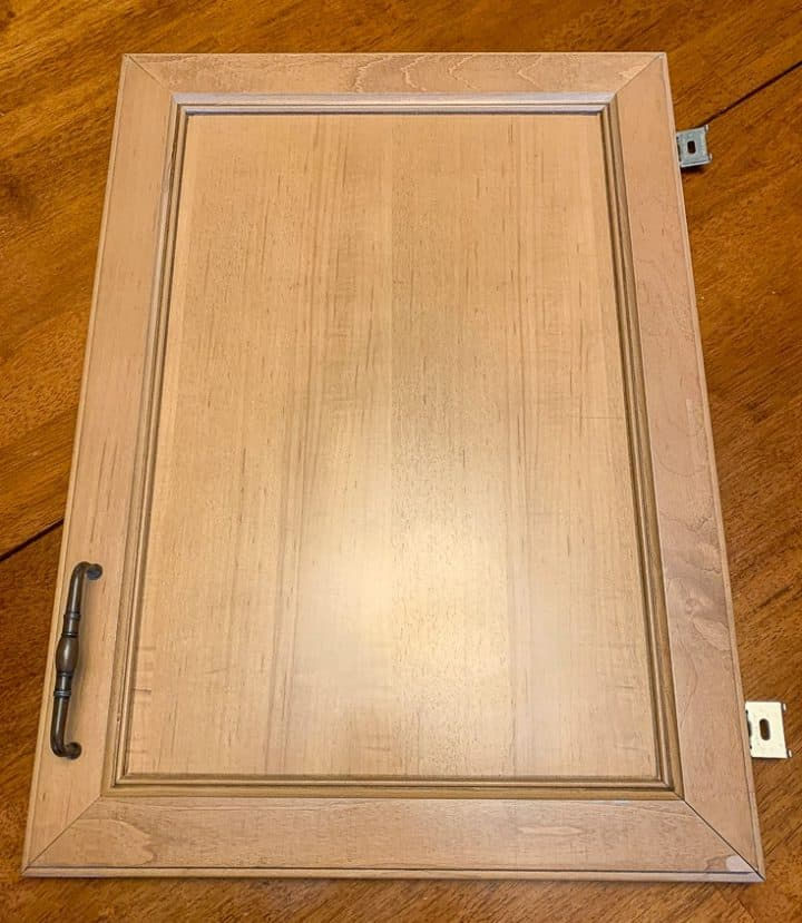 Cabinet door repurposeed upcycle