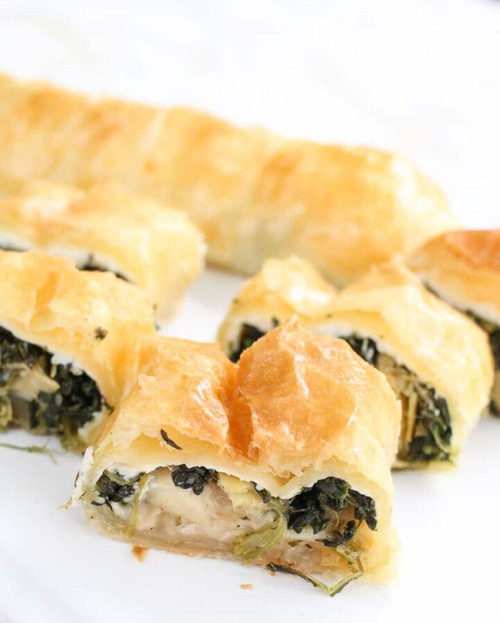 Spinach Artichoke Dip Appetizer Bites-7
