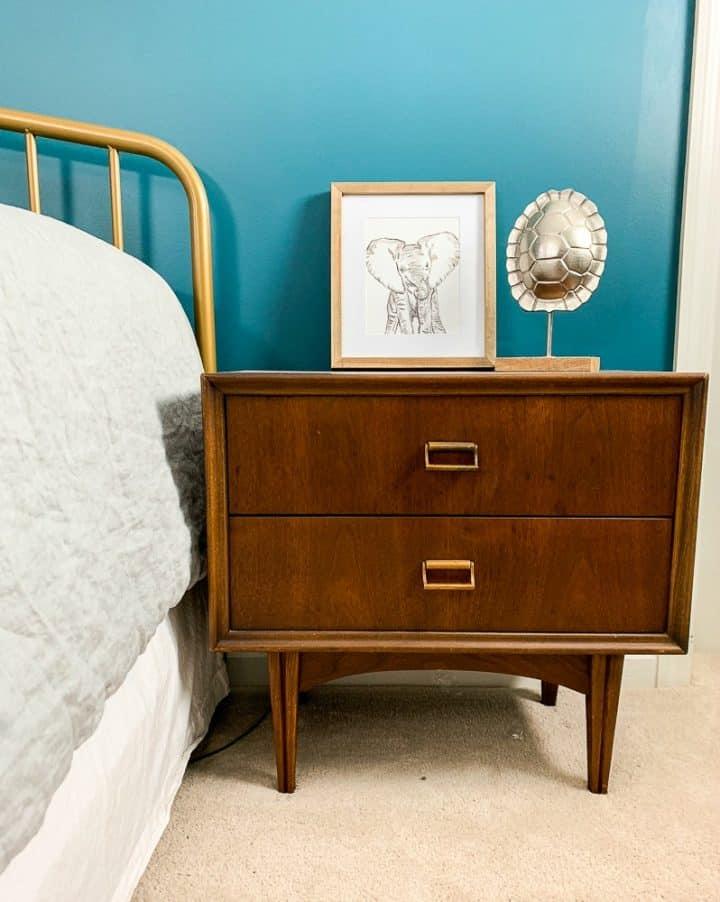 master bedroom makeover mid century modern dressers