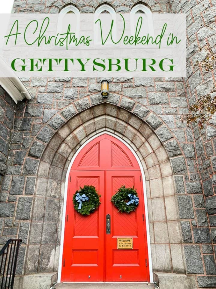 Christmas events in Gettysburg PA