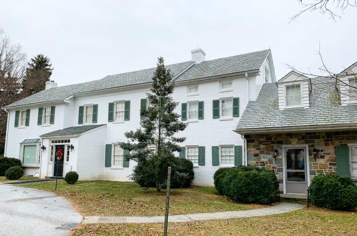 Eisenhower home mansion tour Gettysburg