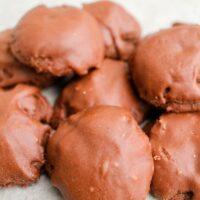 Texas Sheetcake Chocolate iced Cookies Recipe